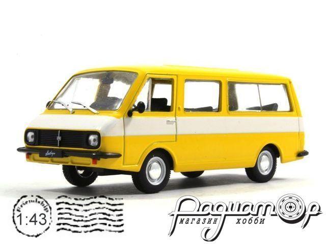 Автолегенды СССР №21, РАФ-2203 «Латвия» (1976)