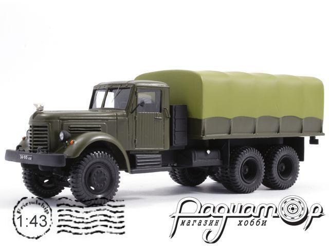 ЯАЗ-210Г бортовой с тентом (1955) 5-2-1B