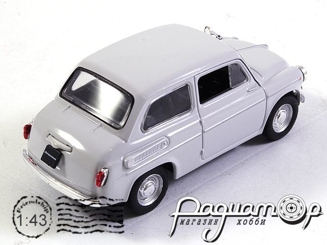 Автолегенды СССР №17, ЗАЗ-965А «Запорожец» (1960)