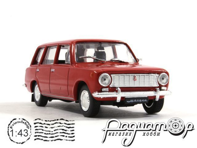 Автолегенды СССР №15, ВАЗ-2102 «Жигули» (1971)