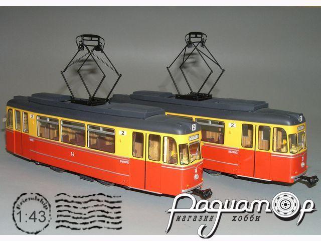 Трамвай «Гота» Т-57 Евпатория (1990) W1-97.2