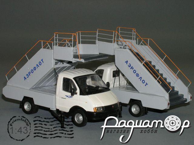 ТПС-22-1(ГАЗ-3302) пассажирский трап (1994) (СZ-20) С2-74.5