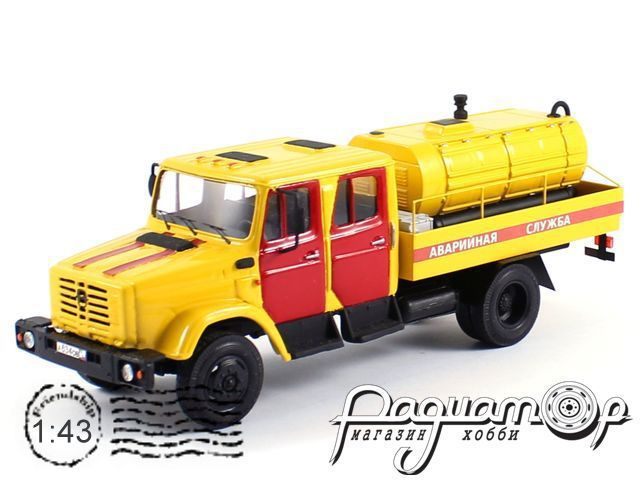 ЗиЛ-4331 компрессор ПКСМ аварийный (1968) 7-12-4