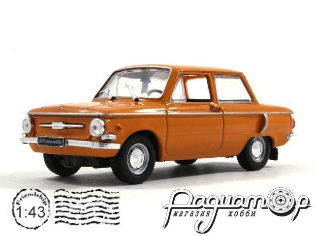 Автолегенды СССР №4, ЗАЗ-968А «Запорожец» (1973)