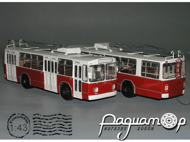 Троллейбус ЗиУ-11 короткий, опытный (1972) W1-41