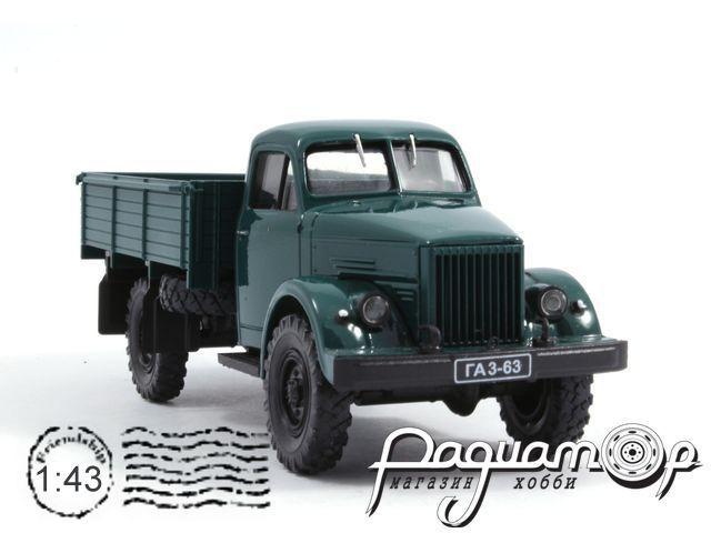 ГАЗ-63 бортовой (1947) H261-G