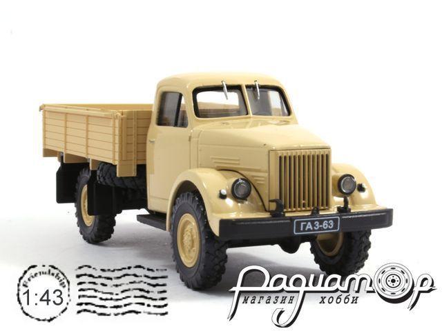 ГАЗ-63 бортовой (1947) H261-W