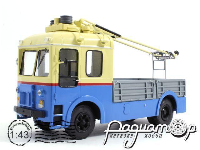 Троллейвоз СВАРЗ ТГ-3 грузовая платформа (1960) 18-5-1B