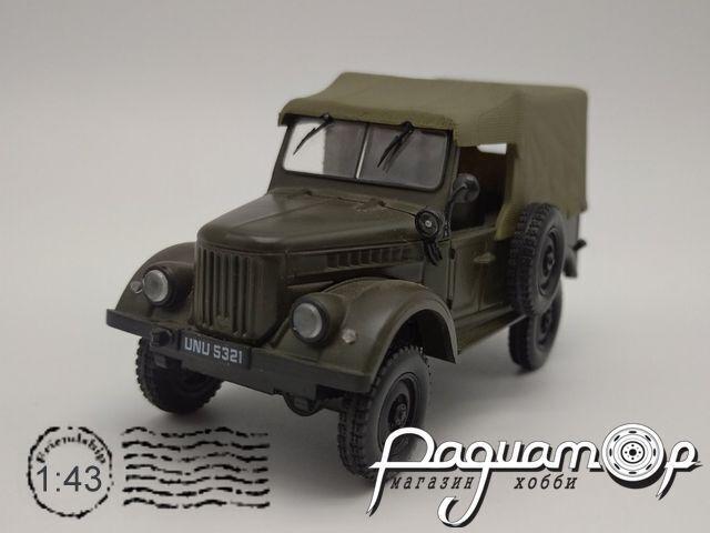 Kultowe Auta PRL-u №7, ГАЗ-69 (1951)