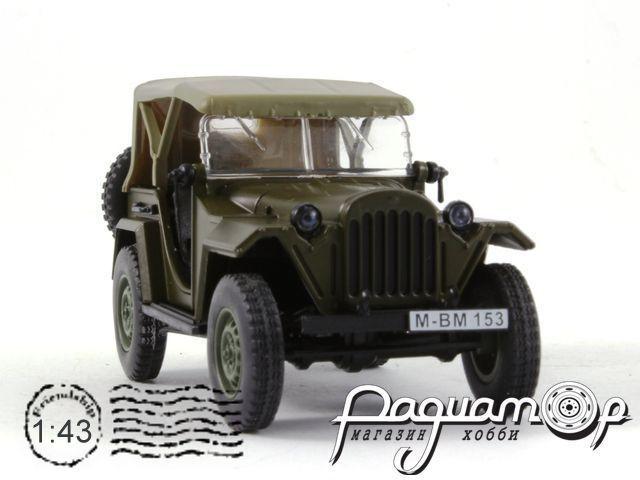 Kultowe Auta PRL-u №44, ГАЗ-67Б (1943)