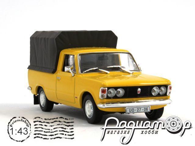 Kultowe Auta PRL-u №46, Fiat 125p Pick-Up (1967)