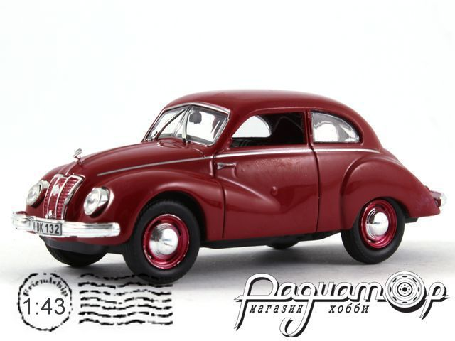 Kultowe Auta PRL-u №48, IFA F9 (1949)