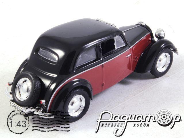 Kultowe Auta PRL-u №57, IFA F8 Limousine (1948)