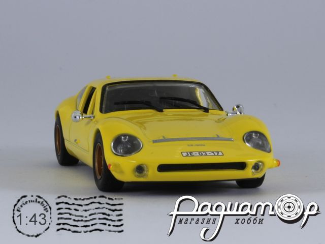 Kultowe Auta PRL-u №62, Melkus RS 1000 (1969)