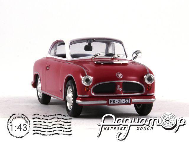 Kultowe Auta PRL-u №66, AWZ P70 Coupe (1955)