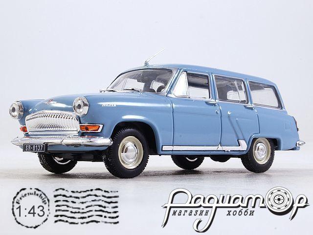 Kultowe Auta PRL-u №73, ГАЗ-22 «Волга» (1962) черный номер