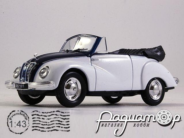 Kultowe Auta PRL-u №75, IFA F9 Cabrio (1949)
