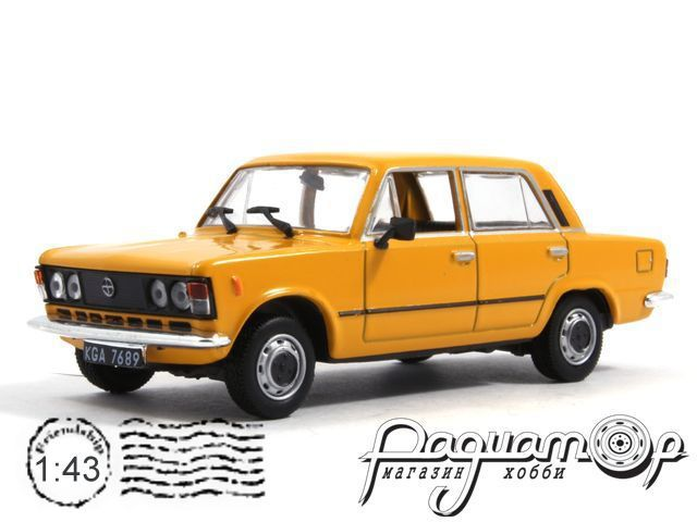 Kultowe Auta PRL-u №77, Polski Fiat 125P mr83 (1983)