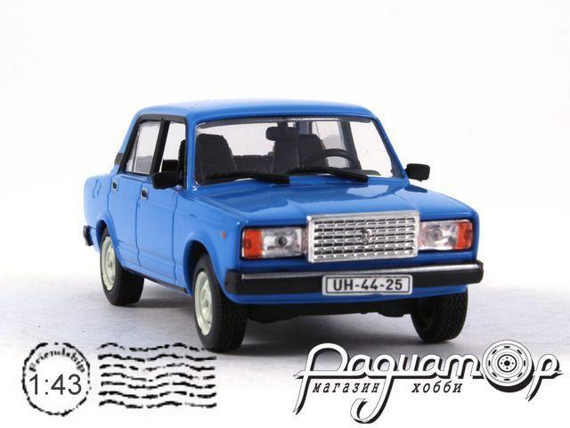 Kultowe Auta PRL-u №79, ВАЗ-2107 «Жигули» (1982)