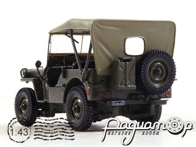 Kultowe Auta PRL-u №82, Jeep Willys MB (1958)