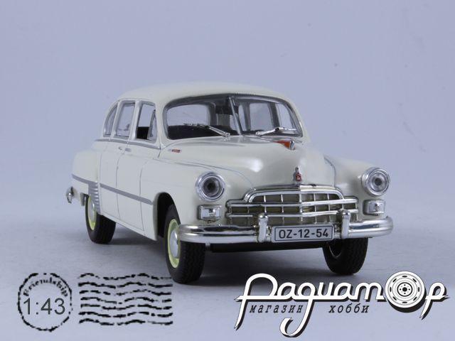 Kultowe Auta PRL-u №83, ГАЗ-12 ЗИМ (1952)