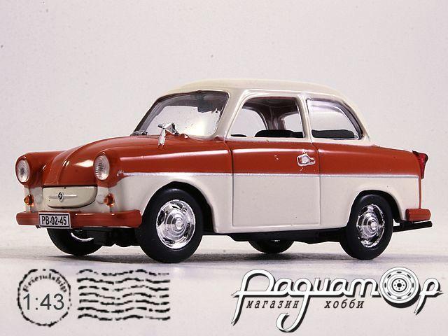 Kultowe Auta PRL-u №86, Trabant P50 Limousine (1957)