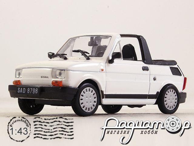 Kultowe Auta PRL-u №88, Fiat 126p Cabrio (1972)