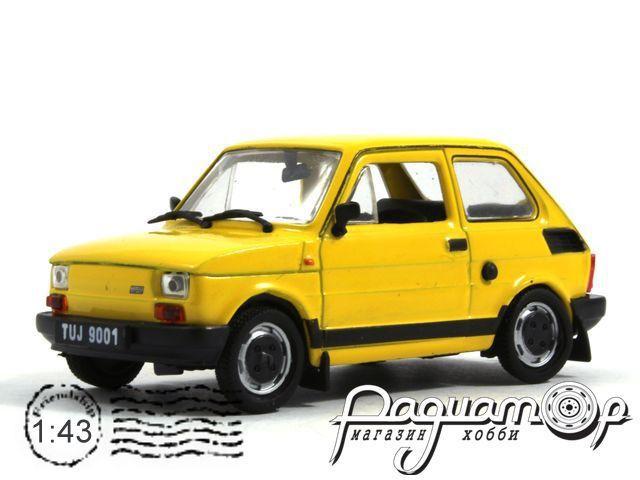 Kultowe Auta PRL-u №98, Fiat 126p FL (1972)