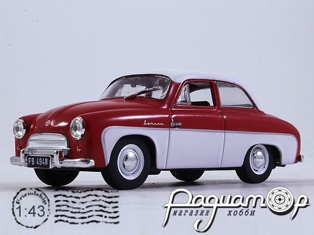 Kultowe Auta PRL-u №107, Syrena 100 (1957)