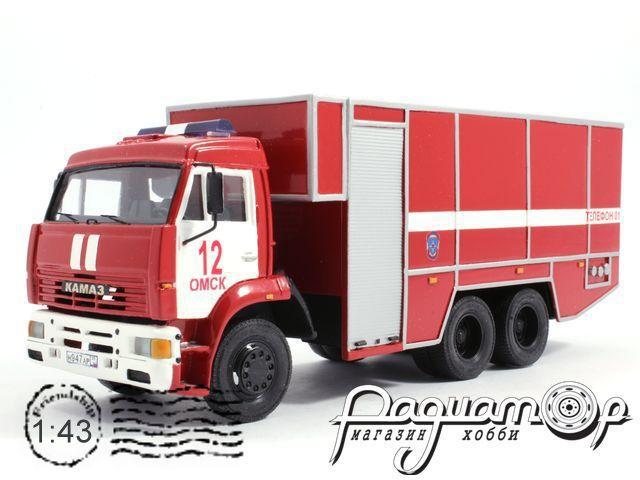 КамАЗ-5360 АНР-100 пожарный (2005) 15-6-24