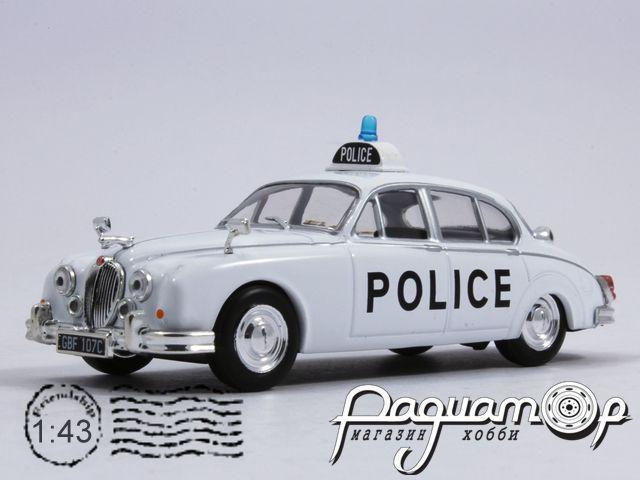 Полицейские машины мира №3, Jaguar Mark II полиция Великобритании (1959)