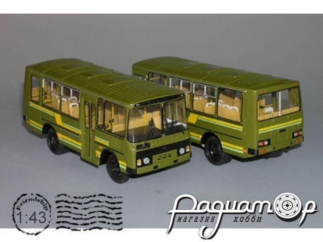 ПАЗ-3206 МО 4х4 армейский (1995) V3-65.1