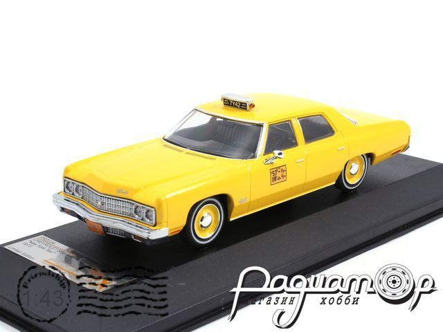 Chevrolet Bel Air New York Taxi Cab (1973) PRD234