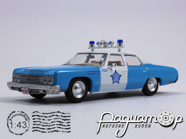 Chevrolet Bel Air Chicago Police (1973) PRD235
