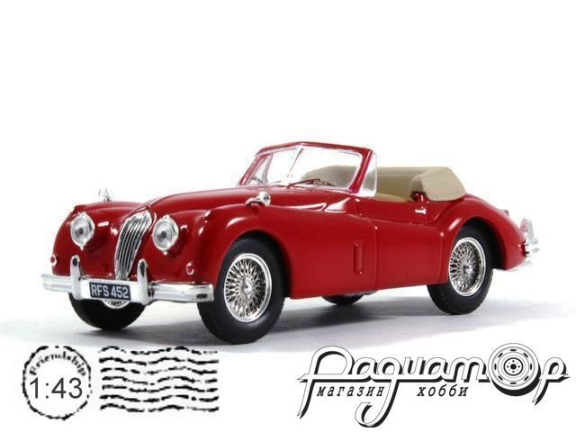 Jaguar XK140 Convertible (1956) CLC238