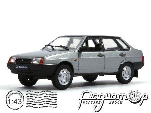 Автолегенды СССР №54, ВАЗ-21099 «Спутник» (1990)