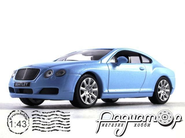 Суперкары №12, Bentley Continental GT (2003)