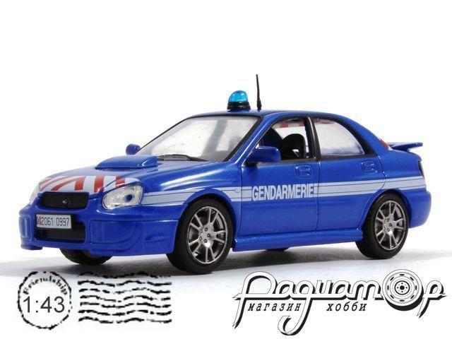 Полицейские машины мира №4, Subaru Impreza полиция Франции (2000) (I) 0803