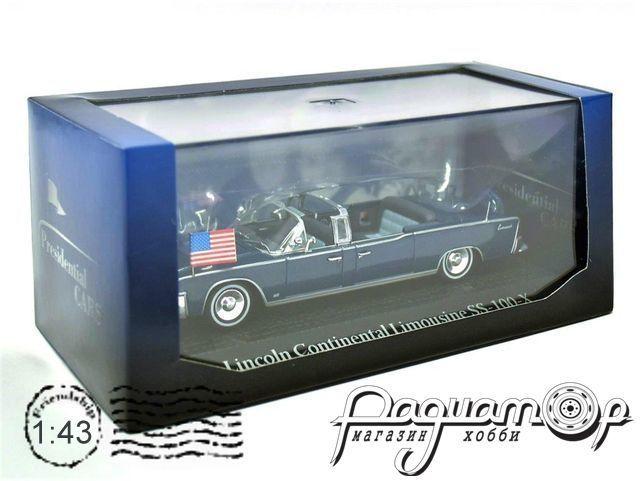 Lincoln Continental Limousine SS-100-X, Джон Кеннеди (1963) 6601