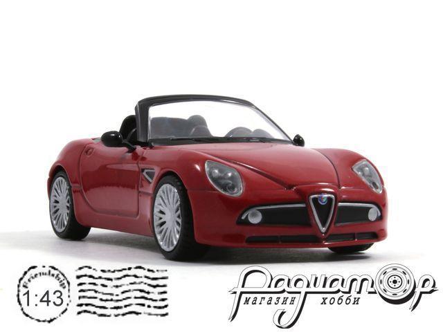 Суперкары №55, Alfa Romeo 8C Spider (2008)