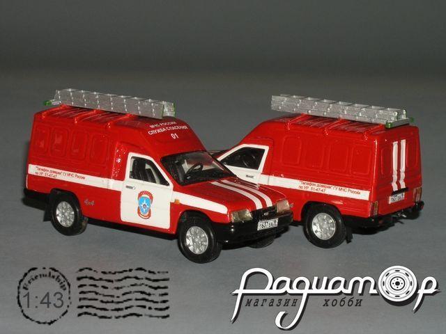 ПСА-К (2717) 4х4 контейнерный (1997) VZ-05