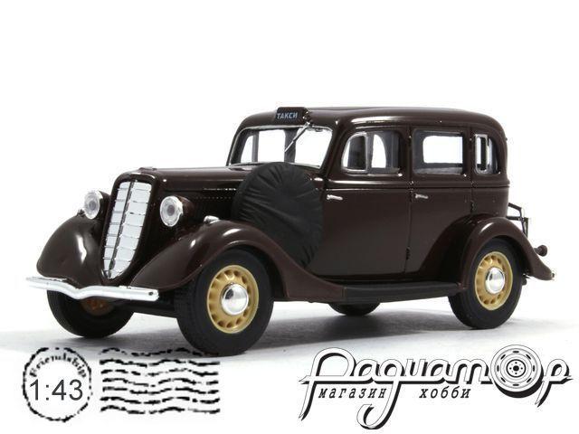 ГАЗ-М1 такси (1937) H751-R