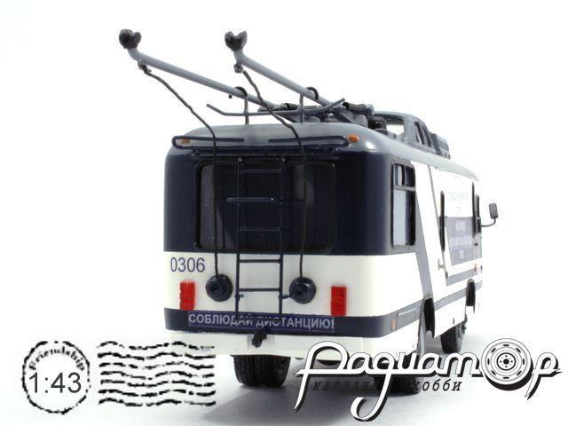 Троллейбус КТГ-1 Мосгортранс (1980) 18-4-4
