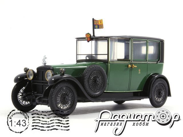Daimler Brougham V-30 HP Double Six Engine королевы Марии (1929) RD002