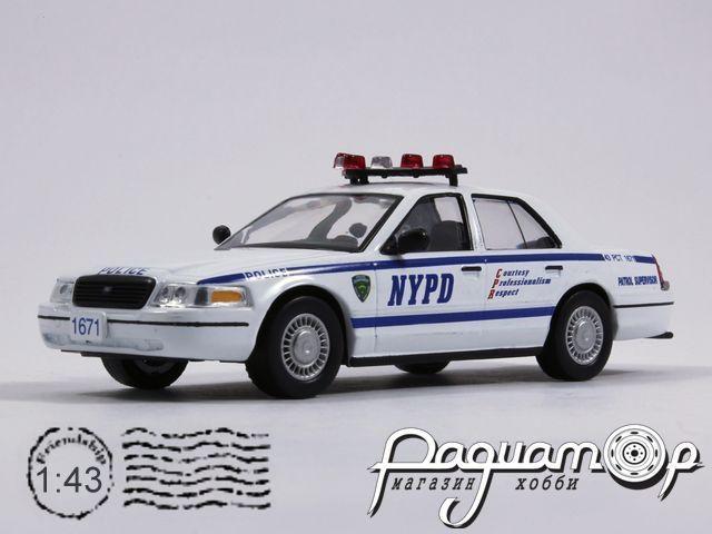 Полицейские машины мира №7, Ford Crown Victoria полиция США (1992)