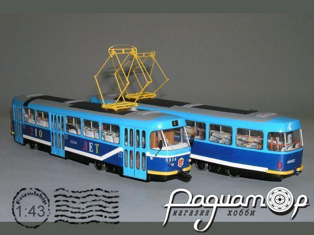 Трамвай Tatra T-3 (106) Одесса (2000) W1-84.3
