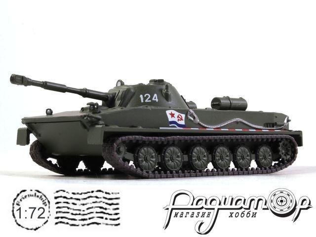Русские танки №69, ПТ-76 (1951)