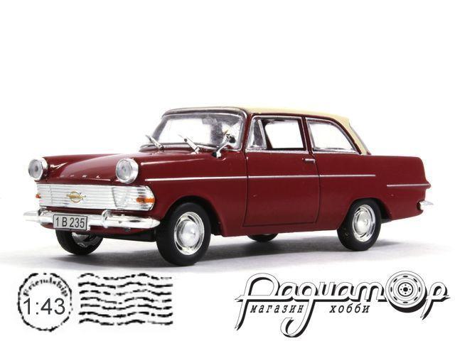 Masini de Legenda №55, Opel Record P2 (1960)