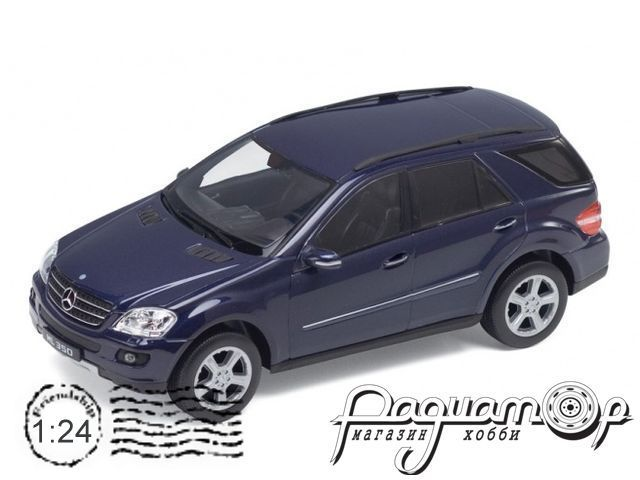 Mercedes-Benz ML350 (2005) 22480 (белый)
