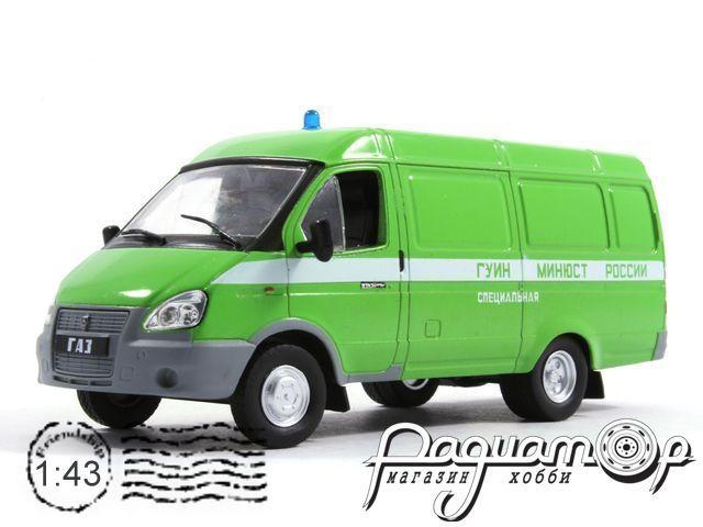 Автомобиль на службе №35, ГАЗ-2705 «ГАЗель»ФСИН (2005) (I)
